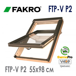 Мансардное окно Факро FTP-V P2 55* 78