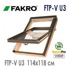 Мансардное окно Факро FTP-V U3 55*78