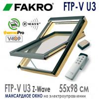 Мансардное окно FTP-V U3 Z-Wave 55* 78